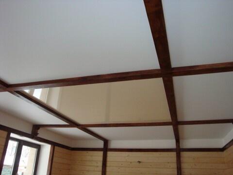 Как сделать потолки в частном доме своими руками