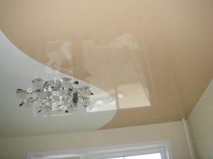 Криволинейные натяжные потолки 5