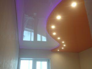 Криволинейные натяжные потолки 8