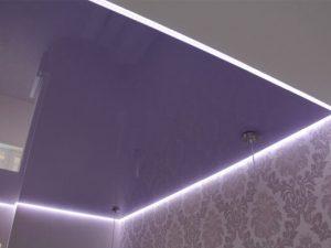 Светопрозрачные натяжные потолки 7