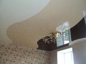 Криволинейные натяжные потолки 7