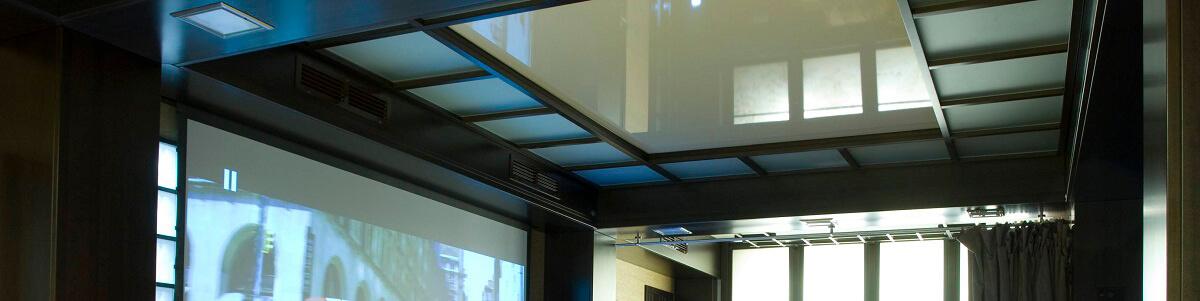 Акустические натяжные потолки