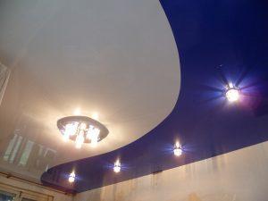 Криволинейные натяжные потолки 4