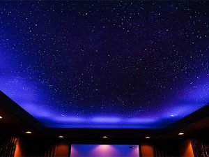 Натяжные потолки звездное небо 5