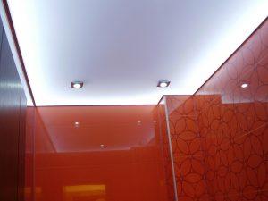 Светопрозрачные натяжные потолки 1