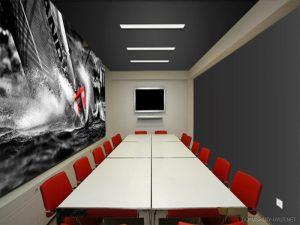 Натяжные потолки в офис 3