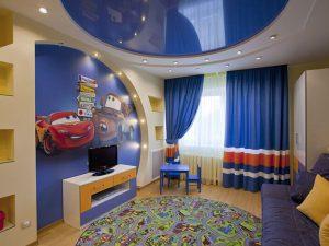 Натяжной потолок в детскую 5