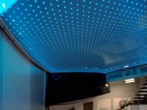Акустические натяжные потолки 10