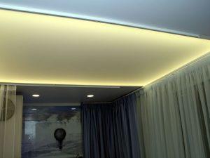Светопрозрачные натяжные потолки 6