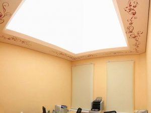Светопрозрачные натяжные потолки 5