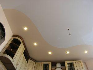 Криволинейные натяжные потолки 6