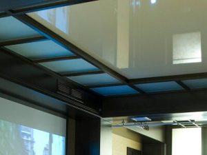 Акустические натяжные потолки 11