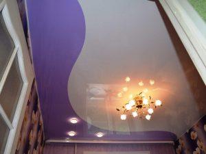 Криволинейные натяжные потолки 2