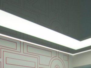 Светопрозрачные натяжные потолки 11