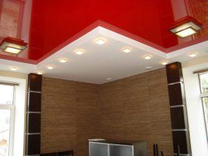 Акустические натяжные потолки 2