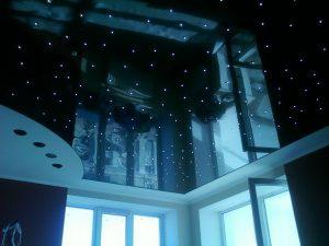 Акустические натяжные потолки 1