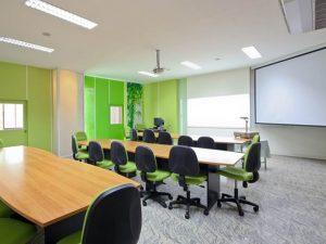 Натяжные потолки в офис 6