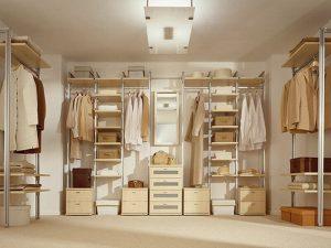 Натяжные потолки в гардеробную 2