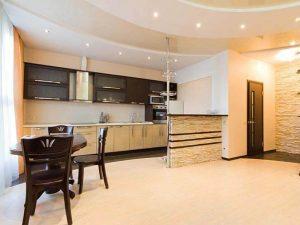 Натяжной потолок на кухню 5