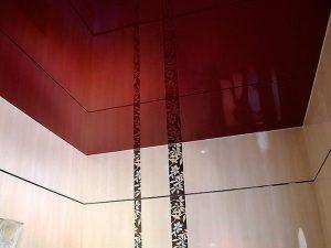 Натяжные потолки для туалета 5