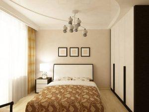 Натяжные потолки в спальню 6