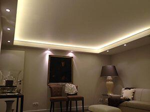 Как используются матовые натяжные потолки в интерьере?