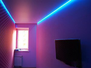Парящий потолок – новый способ красиво оформить помещение