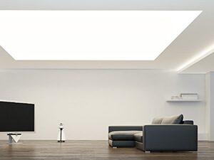 Светопрозрачные натяжные потолки